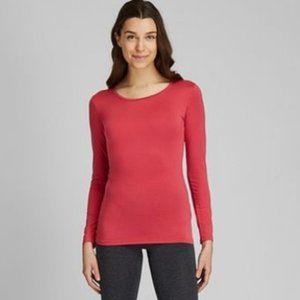 Uniqlo HeatTech Scoop Neck Long Sleeve T-Shirt - X